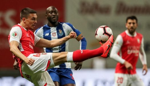 SC Braga eliminado da Taça de Portugal