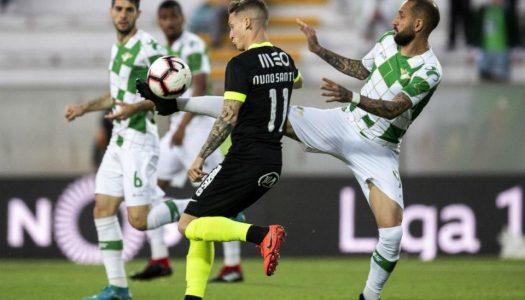 Moreirense sofre terceira derrota consecutiva frente ao Rio Ave