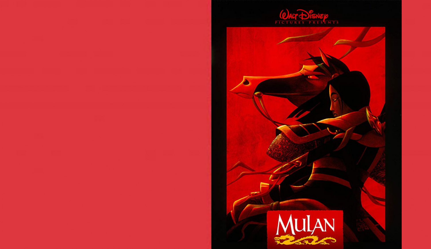 Mulan, 1998, Disney Movie