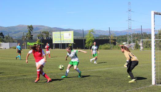 Mão cheia de golos do SC Braga frente ao Vilaverdense