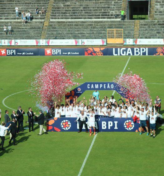 SC Braga campeão
