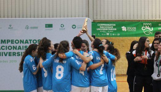 CNU's. AAUM bate AEFADEUP e vence título nacional