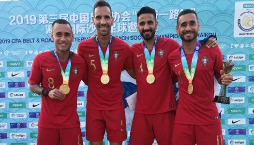 Quatro jogadores do SC Braga chamados à seleção portuguesa de futebol praia