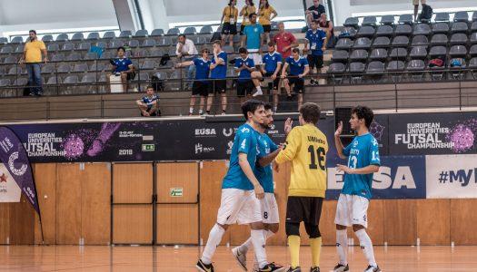 Chegou ao fim o Europeu Universitário de Futsal