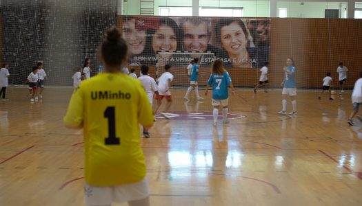 Campeonatos europeus universitários de futsal arrancam esta segunda-feira