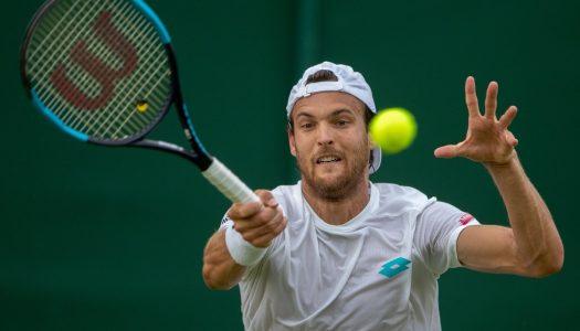 João Sousa faz história em Wimbledon
