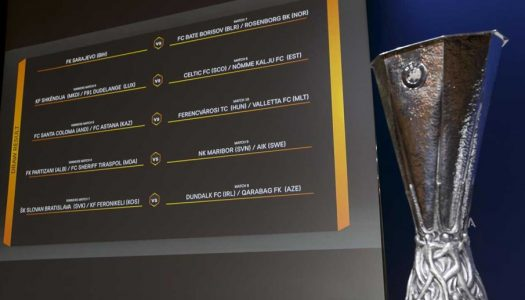 Liga Europa. SC Braga e Vitória SC conhecem possíveis adversários