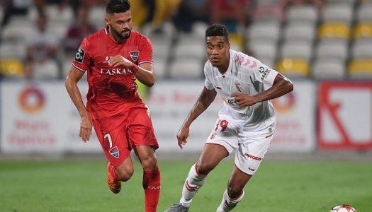 Dérbi entre Gil Vicente e SC Braga termina empatado