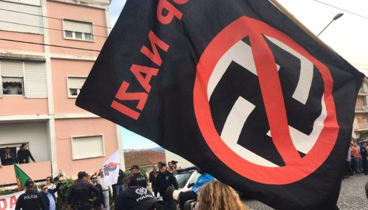 Mobilização Nacional Antifascista contra conferência de extrema-direita em Lisboa