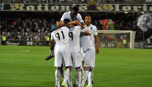 Vitória SC vence CD Feirense e segue em frente na Allianz Cup