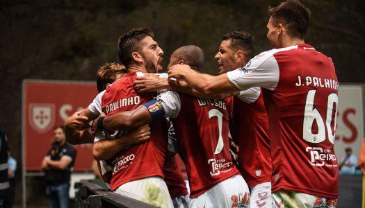 Ricardo Horta dá vantagem ao SC Braga na Europa
