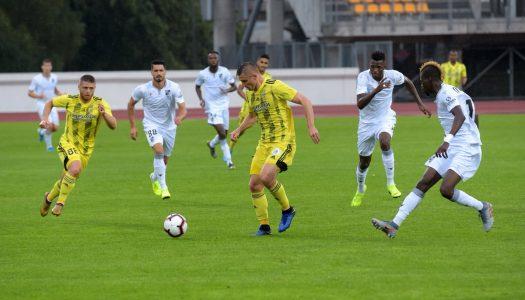 Vitória SC vence Ventspils e está em vantagem na eliminatória