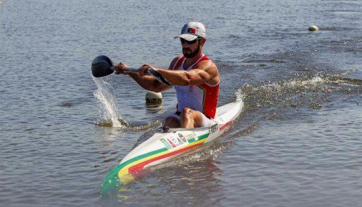 Fernando Pimenta volta a subir ao lugar mais alto do pódio nos K1 1000 metros