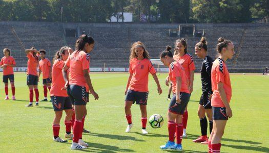 Cinco jogadoras do SC Braga chamadas à seleção portuguesa