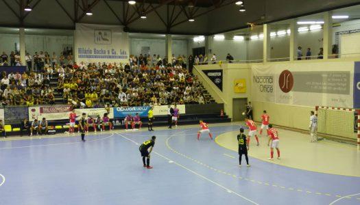 CR Candoso perde frente ao SL Benfica