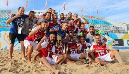 Futebol de Praia. SC Braga conquista primeira Taça de Portugal