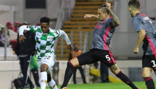 Moreirense cede derrota ao cair do pano frente ao Benfica