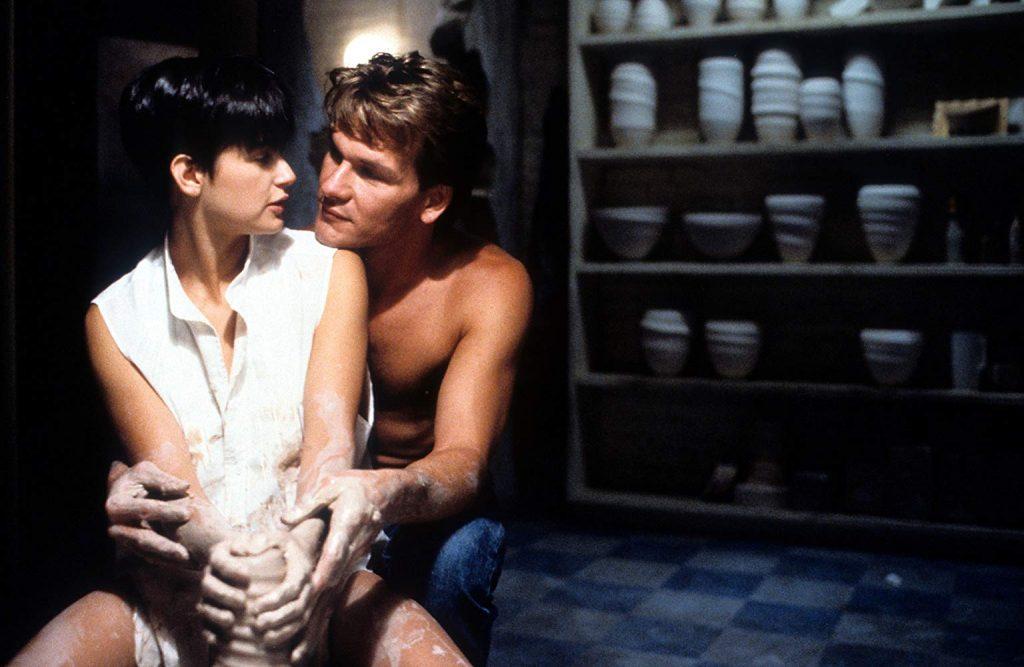 Patrick Swayze em Ghost: O Espírito do Amor