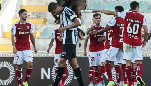 SC Braga de regresso às vitórias com triunfo em Portimão