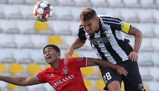 Gil Vicente sofre golo da derrota nos descontos