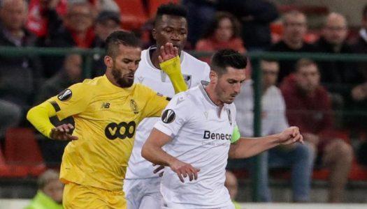Vitória SC arranca fase de grupos com derrota