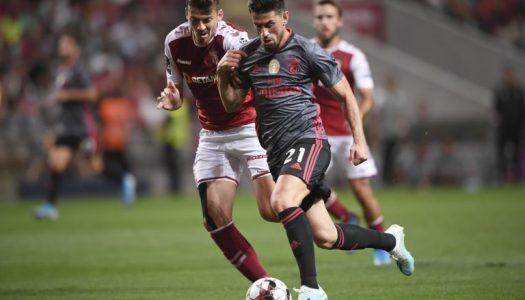 SC Braga goleado em casa pelo SL Benfica