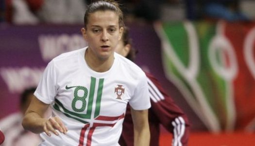 Ana Azevedo convocada para a seleção portuguesa de futsal feminino
