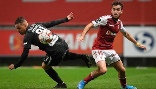 Liga NOS. Nem a chuva fez o SC Braga escorregar