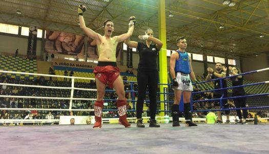 Dima Huryachkov e Alexandre Cunha sagram-se campeões nacionais de Muay Thai