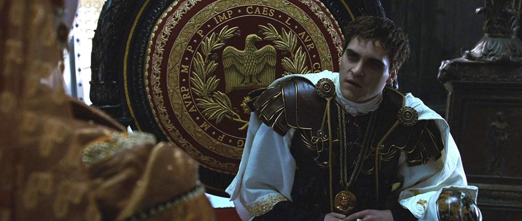 Joaquin Phoenix em O Gladiador