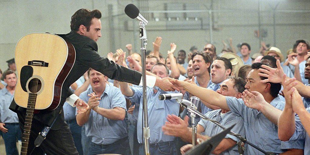 Joaquin Phoenix em Walk the Line