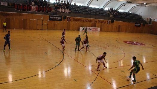 SC Braga/AAUM bate Leões de Porto Salvo em casa