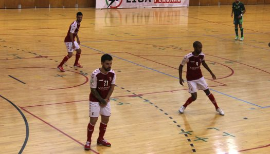 SC Braga/AAUM perde na casa do Futsal Azeméis