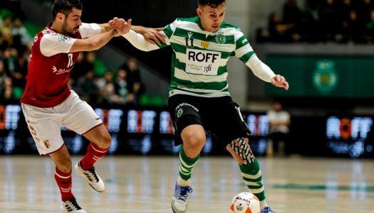 SC Braga/AAUM sofre derrota pesada contra o Sporting CP