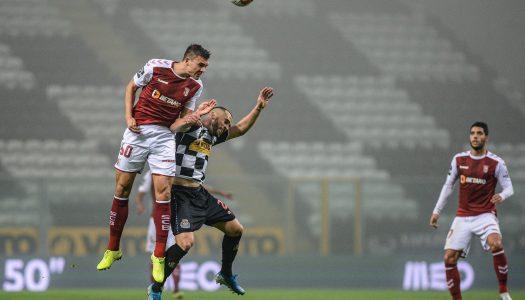 SC Braga soma quarta derrota na Liga NOS