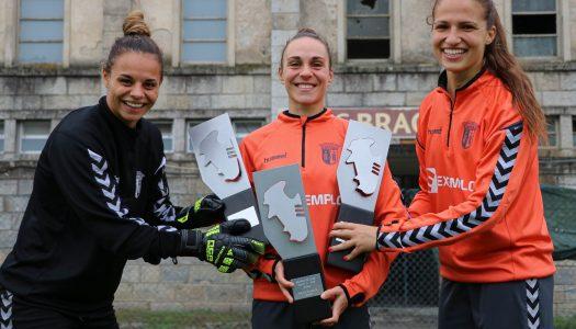 Liga BPI. Tripla do SC Braga recebe galardões do Sindicato de Jogadores