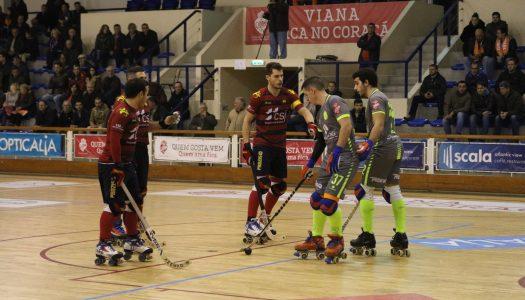 Juventude de Viana e Riba D'Ave HC dividem pontos ao cair do pano