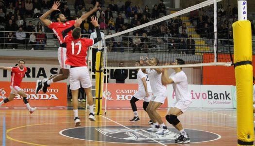 Voleibol. Vitória SC não consegue travar a águia