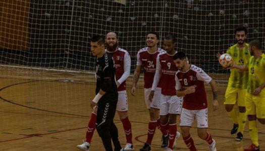 SC Braga/AAUM avança para os oitavos da Taça de Portugal