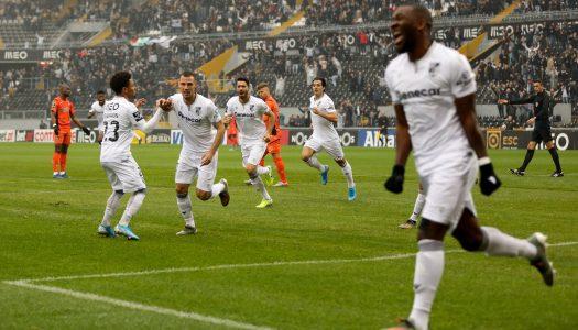 Vitória SC regressa aos triunfos na Liga NOS
