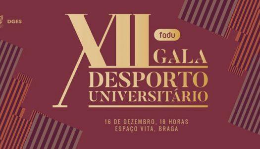 AAUM nomeada para quatro galardões na XII Gala do Desporto Universitário