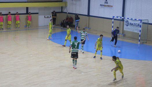 CR Candoso derrotado frente ao Sporting