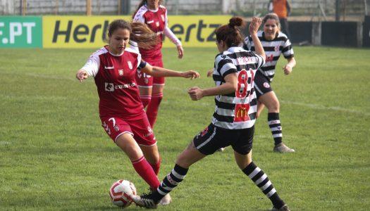 SC Braga divide pontos na deslocação a Ovar