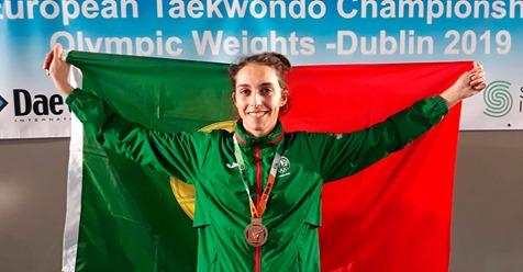 Joana Cunha vence bronze no campeonato da Europa de Taekwondo