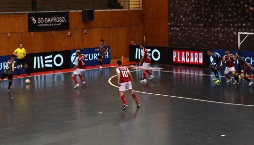SC Braga/AAUM perde e fica pelo caminho na Taça da Liga