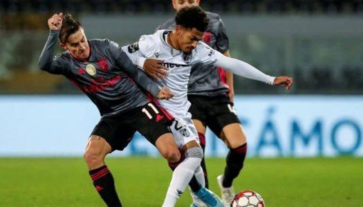 Vitória SC perde frente ao SL Benfica pela margem mínima
