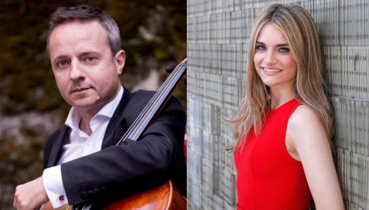 Marc Coppey e Isabel Pérez em recital de violoncelo e piano