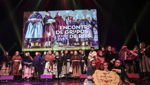 Cantar de reis encerra época natalícia em Braga