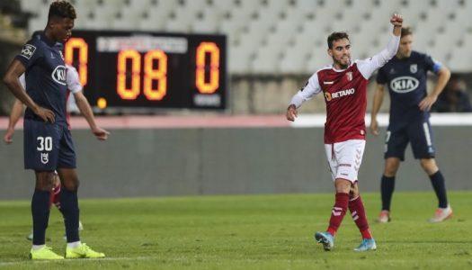 SC Braga goleia Belenenses SAD na estreia de Rúben Amorim