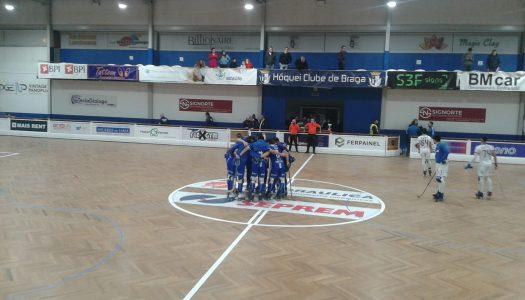 Dérbi entre HC Braga e OC Barcelos termina empatado